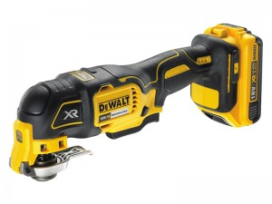 DeWalt DCS355D1 XR Cordless 18v Brushless Oscillating Multi-Tool & Li-Ion 2.0Ah Batt