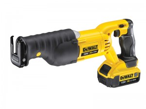 DeWalt DCS380M2 XR Cordless 18v Premium Reciprocating Saw & 2 x Li-Ion 4.0Ah Batts