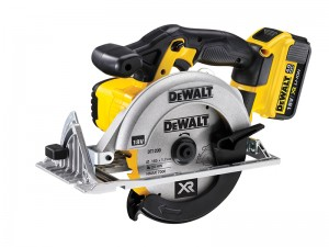 DeWalt DCS391M2 XR Cordless 18v Premium Circular Saw 165mm & 2 x Li-Ion 4.0Ah Batts