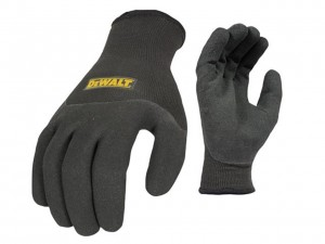 DeWalt Thermal Winter Safety Gloves Black
