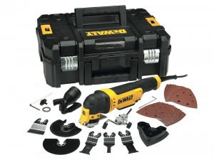 DeWalt DWE315KT 300w Multi-Tool Quick Change Kit & T-STAK Box 110v
