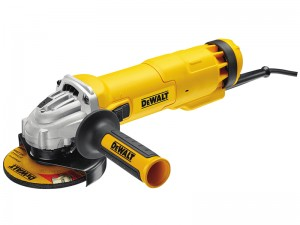 DeWalt DWE4206K 1010w Mini Grinder 115mm & Kit Box 110v