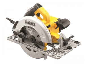 DeWalt DWE576KL 1600w Precision Circular Saw & Track Base 190mm 110v