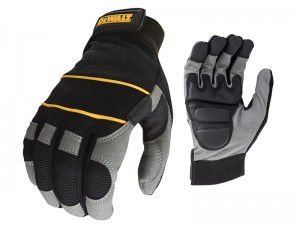 DeWalt DPG33L Power Tool Gloves Gel Palms Black/Grey