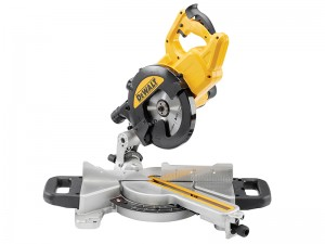 DeWalt DWS774 XPS 1400w Slide Mitre Saw 216mm 110v