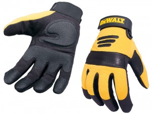 DeWalt Padded Leather Palm Work Gloves
