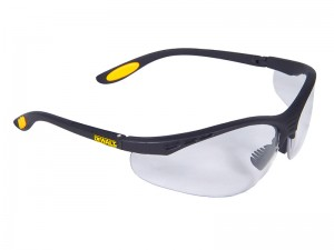 DeWalt Reinforcer Safety Specs/Glasses Spectacles (Various Colours)