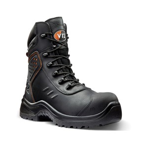 V12 Defender Waterproof Lightweight Safety Work Boots Black (5-13)