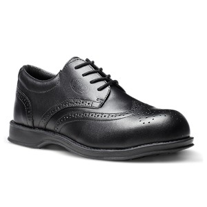 V12 Diplomat Safety Work Shoes Black (Sizes 7-12)