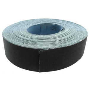 Toolpak Emery Cloth Roll 50mm x 50m (Various Grits)