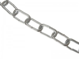 Faithfull Zinc Plated Chain 10m Box (Various Sizes)