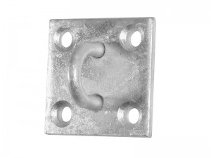Faithfull Chain Staple On Plate Galvanised Steel