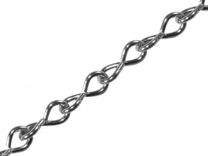 Faithfull Zinc Plated Jack Chain (Various Sizes)