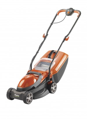 Flymo Chevron 32VC Electric Rotary Lawn Mower 32cm/12.5in 240v