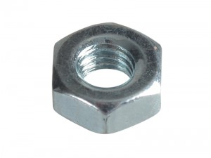 ForgeFix Hexagon Nut & Washer Zinc Plated Pack Qty's (Sizes M3-20)
