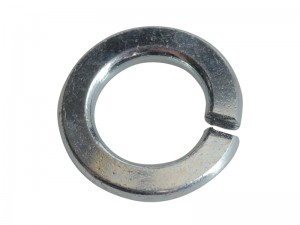 ForgeFix Spring Lock Washer Zinc Plated Pack Qty's (Sizes M5-M12)