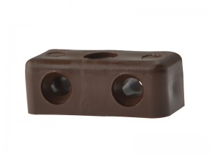ForgeFix Modesty Joining Block Assembly Joint No6-8 Brown - Bag of 100