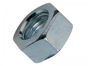 ForgeFix Hexagon Nut Zinc Plated Bag Qty's (Sizes M3-20)