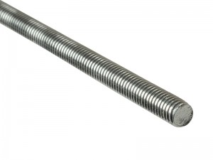 ForgeFix Threaded Rod Bar Stainless Steel 1-Metre Bar (Sizes M6-12)