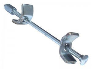 ForgeFix Worktop Clamp 150mm Zinc Plated Bag of 10