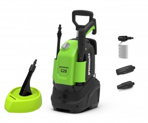 Greenworks G20 Electric 1400w Pressure Washer 110Bar 240v
