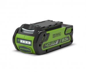 Greenworks G40B2 40v Spare Battery 2.0Ah for Garden Power Tools