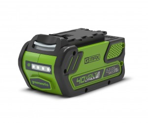 Greenworks G40B4 40v Spare Battery 4.0Ah for Garden Power Tools
