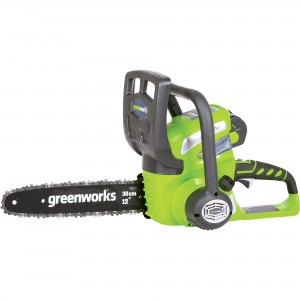 Greenworks G40CS30 Cordless 40v Chainsaw 30cm/12in Bare Unit