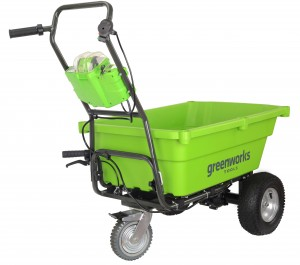 Greenworks G40GC Battery Powered 40v Self Propelled Garden Cart Trolley Bare Unit