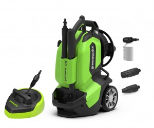 Greenworks G40 Electric 1900w Pressure Washer 135Bar 240v