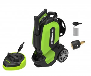Greenworks G70 Electric 3000w Brushless Pressure Washer 180Bar 240v
