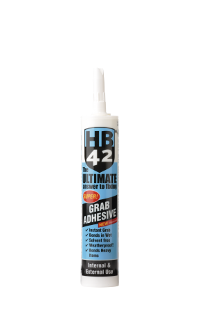HB42 Ultimate Universal Grab Adhesive 310ml Cartridge