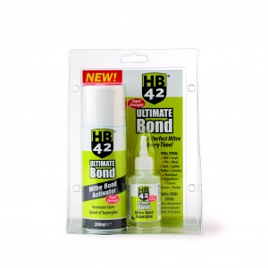 HB42 Ultimate Activator & Mitre Bond Superglue Kit