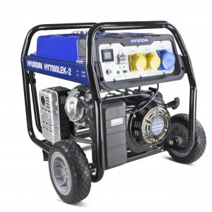 Hyundai HY7000LEK-2 Recoil Start Long Run Petrol Generator 5.5kW/6.8kVA