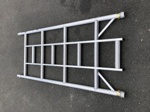 UTS 4-Rung Single Width Ladder Frame to suit Alloy Industrial Access Scaffold Towers