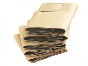 Karcher Vacuum Cleaner Replacement Paper Filter Dust Bags Pack Of 5