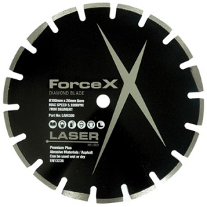 Force-X LAM300 Extreme Asphalt Diamond Blade 300mm