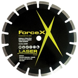 Force-X Extreme Asphalt Diamond Blade (Various Sizes)