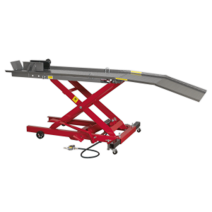 Sealey Air/Hydraulic Motorcycle Scissor Lift (Various Sizes)