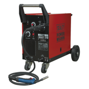 Sealey Professional Gas/Gasless Mig Welder 210amp With Euro Torch