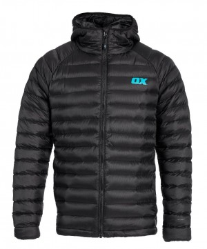 Ox Ribbed Padded Work Jacket Black (Sizes S-XXL)