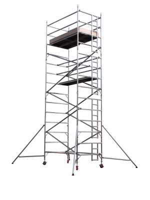 UTS 18DW Industrial Alloy Scaffold Access Tower S/W x 1.8m (Various Heights)