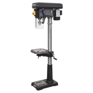 Sealey Premier Floor Pillar Drill 16-Speed With Integral Light 240v 1610mm