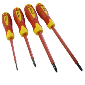 ProForce VDE Screwdriver 4-Piece Set