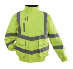 Pulsar P191 Hi-Vis Yellow Waterproof Classic Bomber Jacket (Sizes S-XXXL)