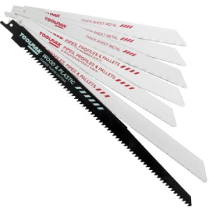 Toolpak Reciprocating Saw Blade Set 7-Piece