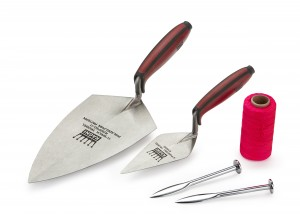 Ragni 5-Piece Professional Bricklaying Trowel Set