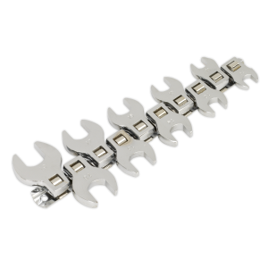 Sealey Siegen Open-Ended Spanner Set 10-Piece