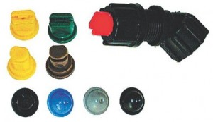 Solo Universal Nozzle Set 9-Piece for Garden Pressure Sprayers