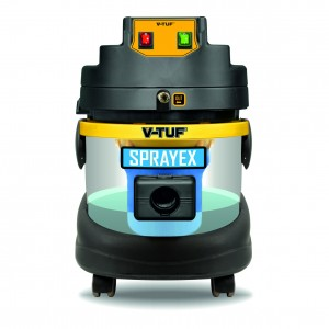 V-Tuf SPRAYEX Carpet & Upholstery Vacuum Cleaner 21-Litre (110v or 240v)
